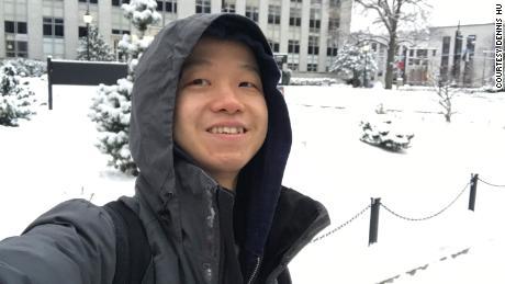 Dennis Hu in Boston, United States.