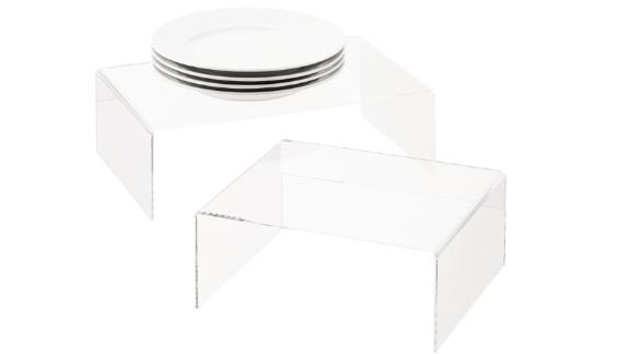 The Container Store Acrylic Organizer Shelves