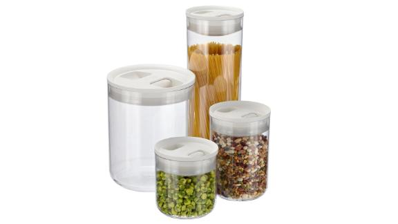 The Container Store Click Clack Pantry Canisters