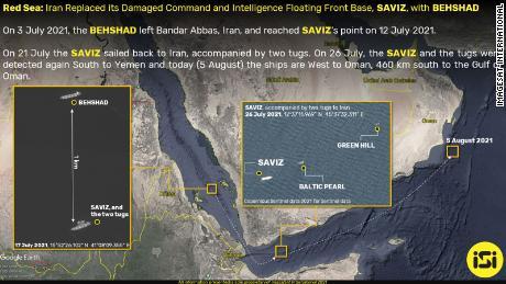 Satellite imagery from ImageSat International