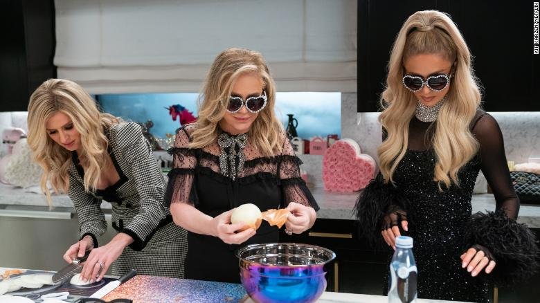 Paris Hilton's cooking show is really about something else