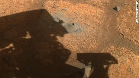 La première tentative du rover persistant pour collecter un échantillon de Mars ne s'est pas déroulée comme prévu