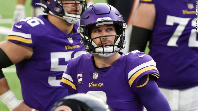 Michigan hospital ends relationship with Vikings quarterback Kirk Cousins over his vaccine stance
