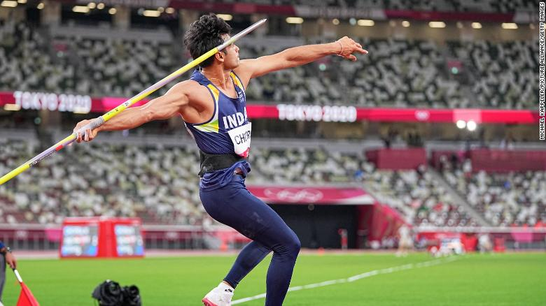 Neeraj Chopra's javelin victory delivers India its first Olympic gold medal in track and field