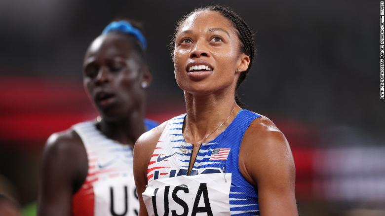 Allyson Felix becomes most decorated US track and field athlete in Olympics history