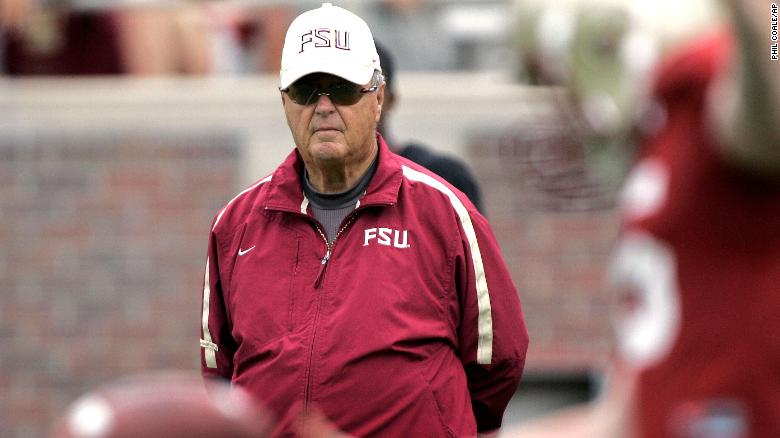 """<a href=""""https://www.cnn.com/2021/08/08/sport/bobby-bowden-death/index.html"""" target=""""_blank"""">Bobby Bowden,</a> the famed college football coach who led Florida State University for over 30 years and transformed the Tallahassee team into a powerhouse, died Sunday, August 8, the school said in a statement. He was 91."""