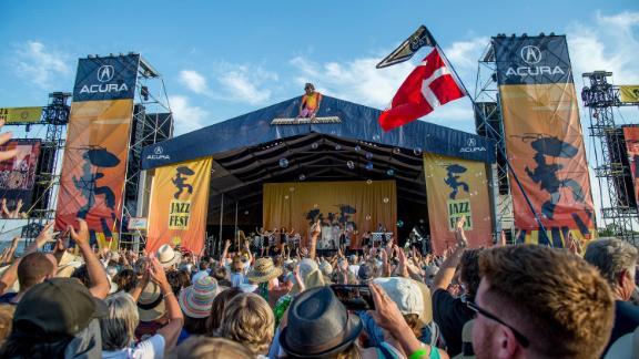 Le Jazz Fest, présenté ici en 2018, n'a pas eu lieu depuis le début de la pandémie.