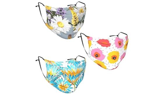 Lupines Flowers Fabric Face Mask