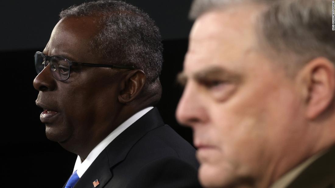Military leaders defend Biden's handling of Afghanistan withdrawal