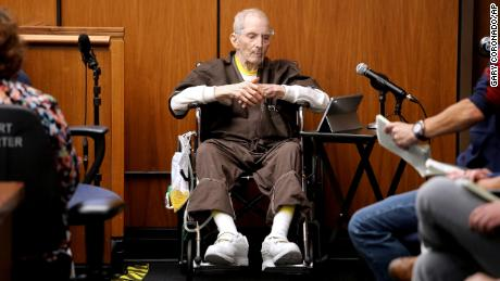 New York real estate heir Robert Durst, 78, takes the stand Monday in Inglewood, Calfornia.