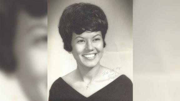 Lupe Alemán was 20 years when she graduated high school in Bishop, Texas, her son says. She was the school's first Mexican American homecoming queen.