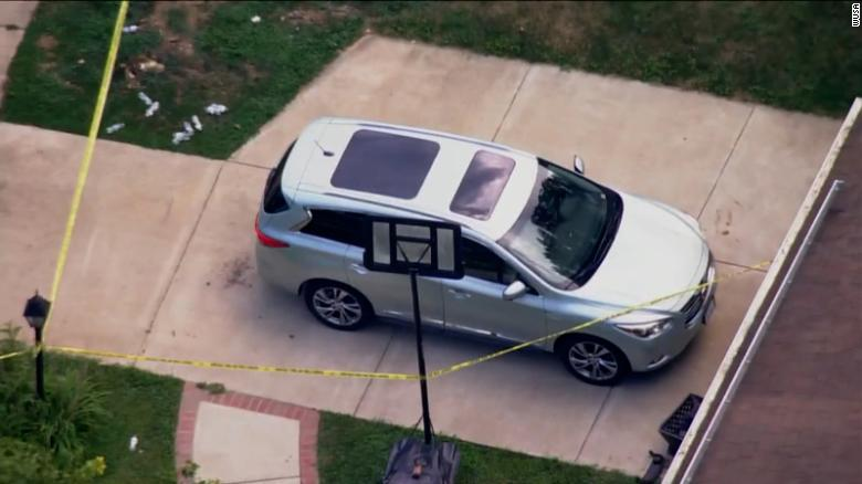 5-year-old dies after being left in a car during high temperatures for possibly up to several hours, police say