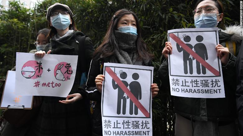 China's recent rape scandals are a #MeToo victory, activists say — even if the government won't admit it