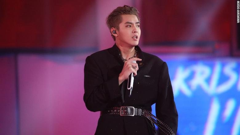 Pop star Kris Wu formally arrested in China on suspicion of rape