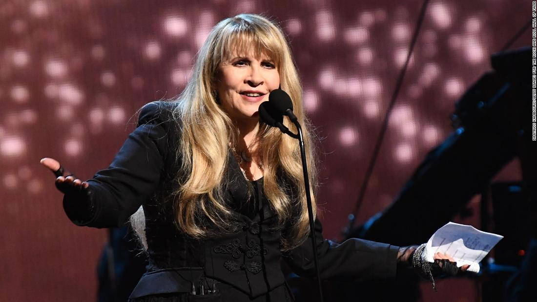 Stevie Nicks cancels US tour dates, citing rising Covid-19 cases