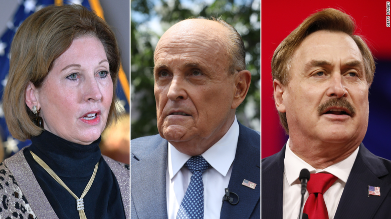 Judge allows defamation lawsuits against Sidney Powell, Rudy Giuliani and MyPillow CEO to go forward