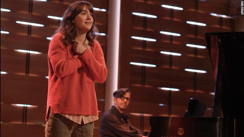 Emilia Jones and Eugenio Derbez in 'Coda,' which premieres on Apple TV+.