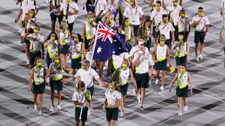 Australian Olympians forced to undergo 'double quarantine' of almost a month on return home