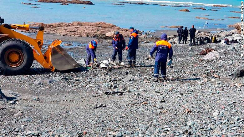 Eight feared dead in helicopter crash in Russia's Far East
