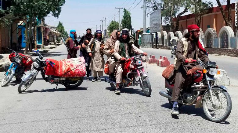 Taliban captures key cities Herat and Ghazni, leaving Kabul increasingly isolated