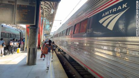 The infrastructure bill is more about maintaining train service than upgrading it