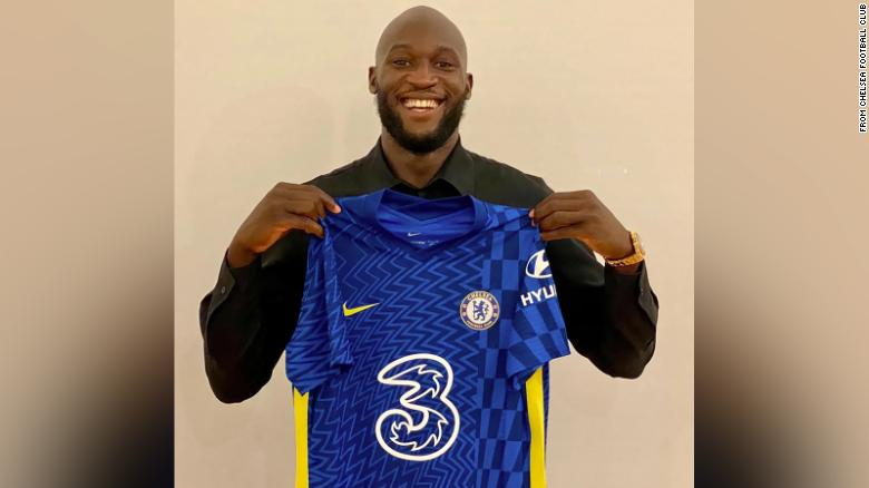 Chelsea re-signs Belgium star Romelu Lukaku on five-year deal in reported club-record deal