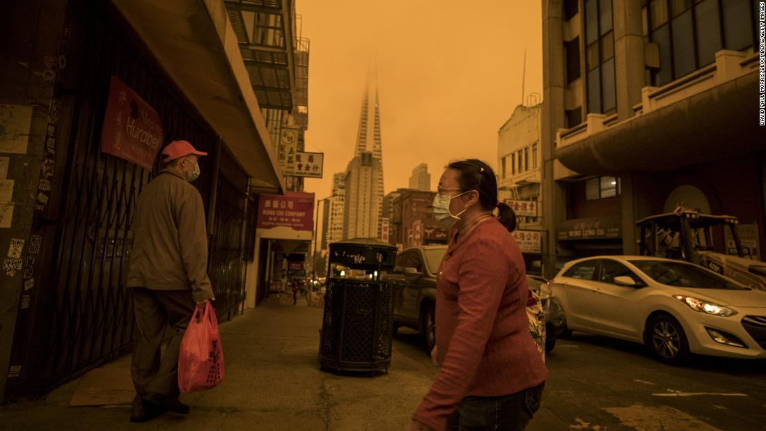 Smoke and soot from wildfires may be causing more Covid-19 cases and deaths, study finds