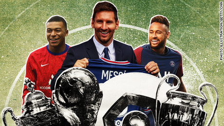 Messi's signing for PSG means the French giants will have one of the most formidable attacking lines in the history of the game.