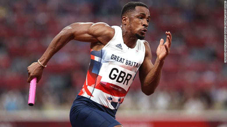 Olympic silver medalist Chijindu Ujah provisionally suspended for doping violation