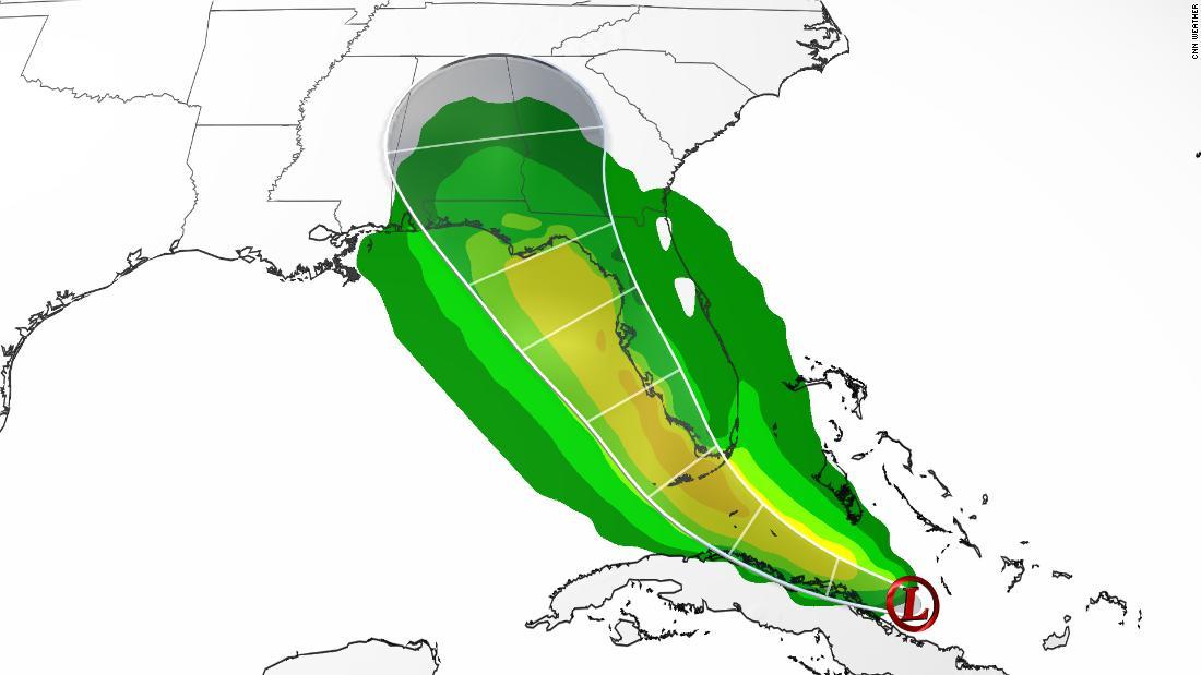Fred absolut akan menghantam Florida sebagai badai tropis thumbnail