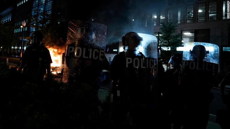 ACLU sues DC, police over use of chemical irritants, stun grenades at racial justice protest