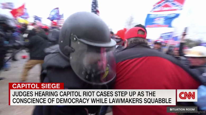 Judge to US Capitol rioter: 'You've disgraced this country in the eyes of the world'
