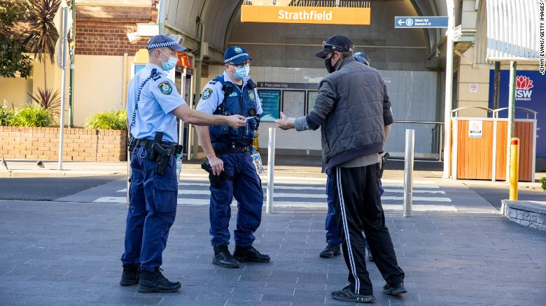 More military personnel deployed to enforce Sydney Covid restrictions as cases surge