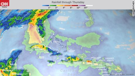 Tropical Storm Grace forms in the Atlantic as Fred nears Florida