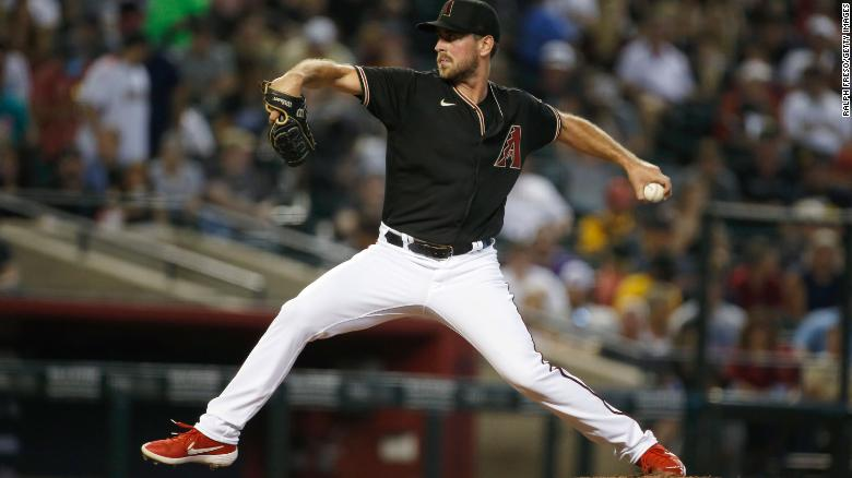 MLB pitcher Tyler Gilbert throws a no-hitter in his first career big league start