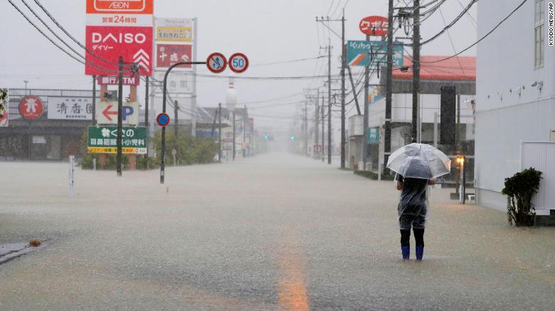 At least 4 people presumed dead after mudslides hit Japan