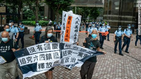 Prominent Hong Kong civil rights group disbands, citing government pressure