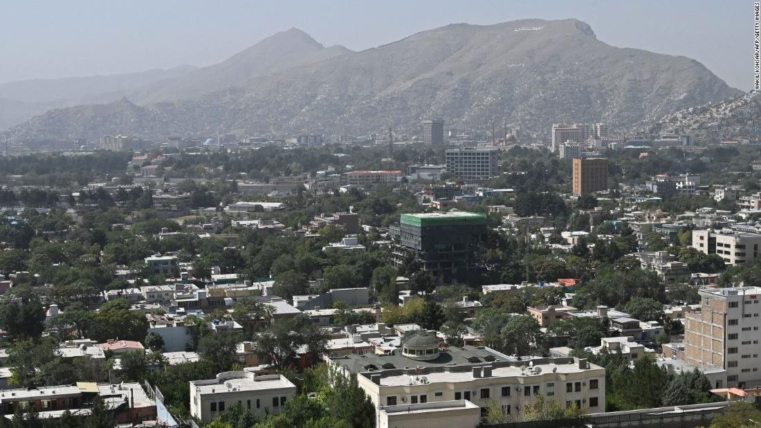 """Only a """"trickle"""" of Afghans are making it into Kabul airport due to Taliban checkpoints"""