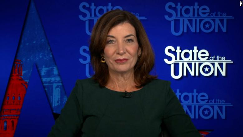 Hochul vows 'zero tolerance' in her administration once she becomes New York governor