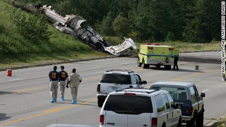 L'accident de West Columbia, en Caroline du Sud, le 19 septembre 2008, a tué quatre des six personnes à bord.