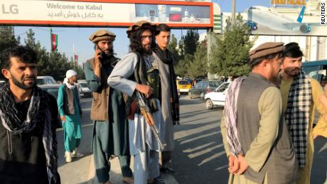 Chaos in Kabul as Taliban take power and thousands try to flee - CNN