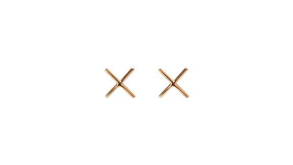 Aurate X Earring