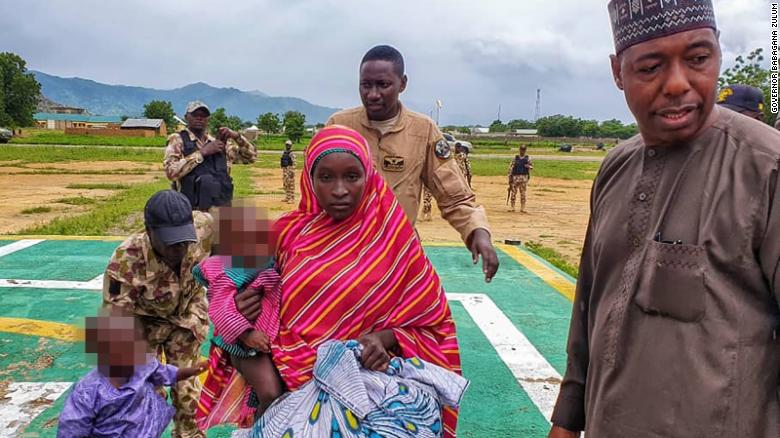 """Second Nigerian """"Chibok girl"""" freed in a week seven years after abduction"""