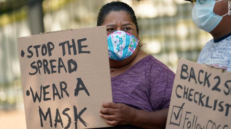 'Breaking point': Why the red state/blue city conflict is peaking over masks