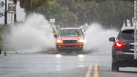 Tropical Depression Fred unleashing tornadoes and rain in the Southeast