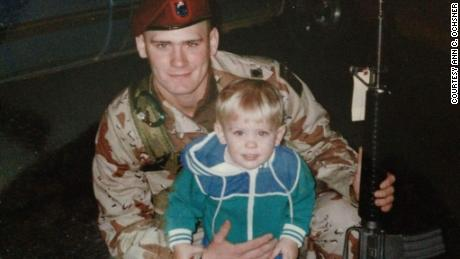 My dad died serving in Afghanistan. I'm sad and angry, and you should be too