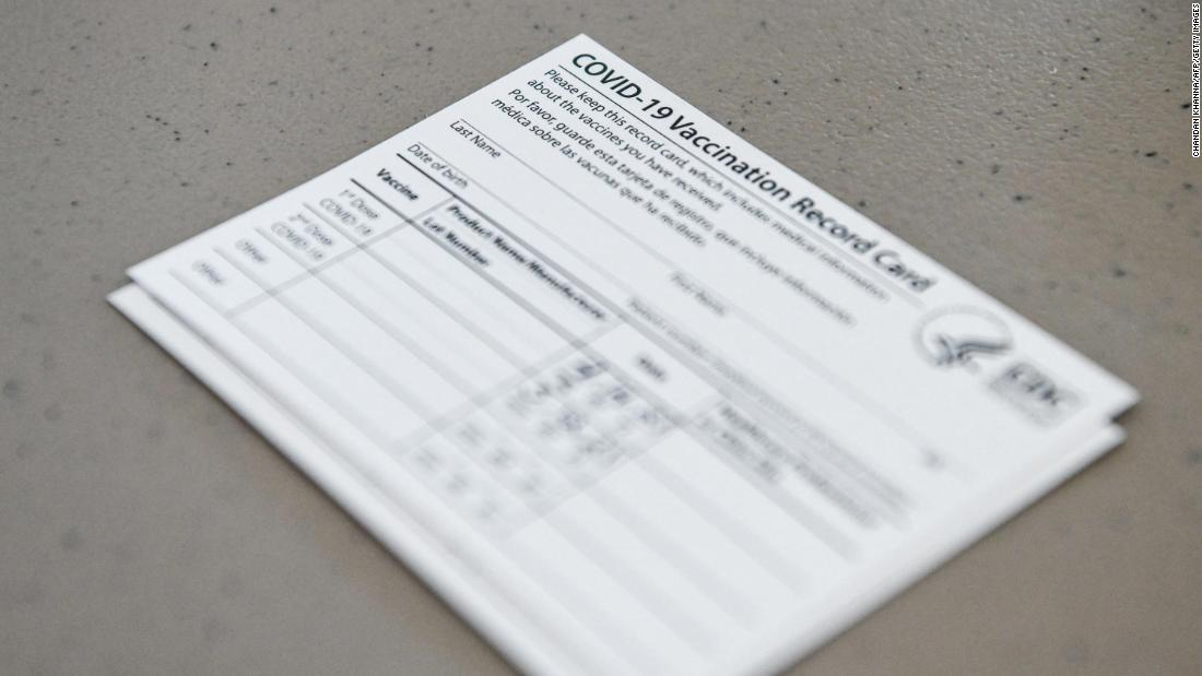 Pharmacist arrested for allegedly selling Covid-19 vaccination cards on eBay