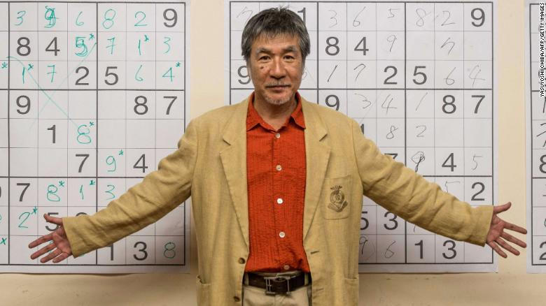 """Japanese puzzle maker <a href=""""https://www.cnn.com/2021/08/17/world/maki-kaji-sudoku-death-trnd/index.html"""" target=""""_blank"""">Maki Kaji</a> died August 10 from bile duct cancer. Kaji, 69, was known as the """"godfather of Sudoku"""" for his hand in bringing the puzzle to the masses."""