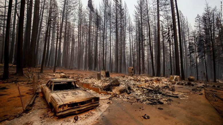 Northern California wildfire triples in size, forcing thousands to evacuate