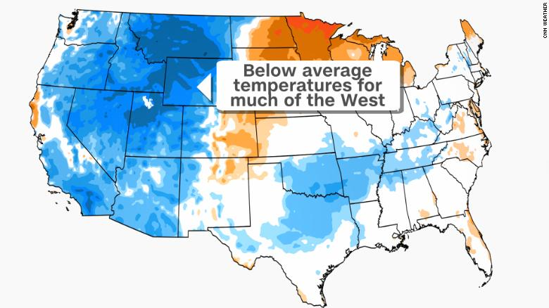 The summer's coolest air comes at a price for some in the West